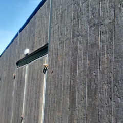 Weathered Oak Embered Cladding by Millboard - Wall Cladding
