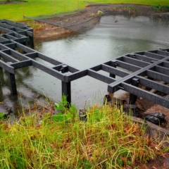 Subframe Plas Pro For Millboard Decking