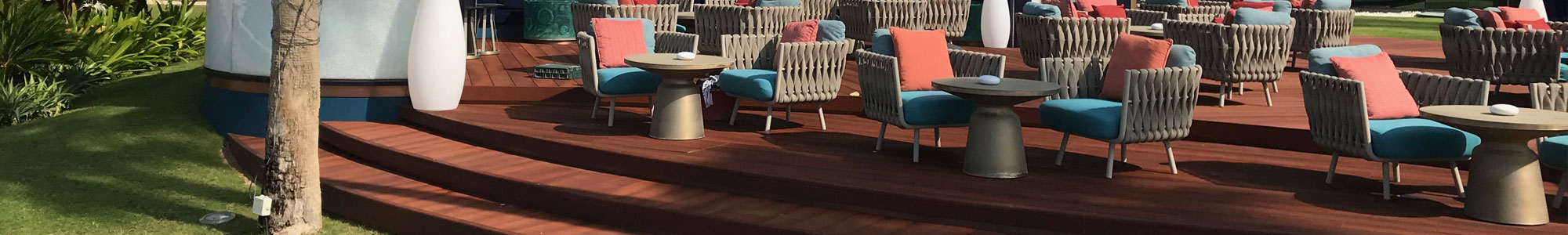 Enhanced Grain Jarrah Millboard Decking