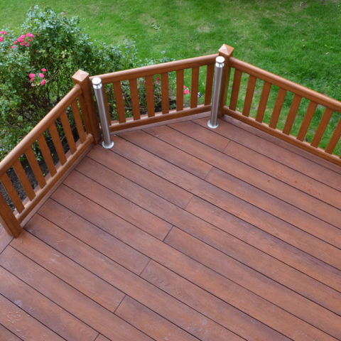 Enhanced Grain Jarrah Millboard Decking Outdoor Deck