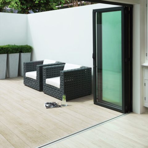 Enhanced Grain Limed Oak Millboard Decking -Bi-Folds