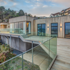 Residential Smoke Oak Wall Cladding and Decking - Exterior wall cladding Ireland, Northern Ireland Installer