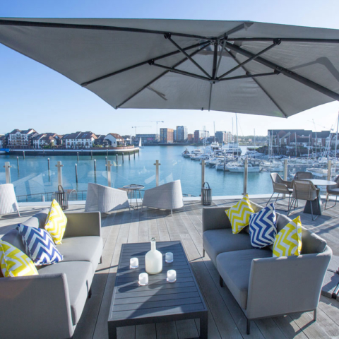 Enhanced Grain Smoked Oak Millboard Decking Harbour