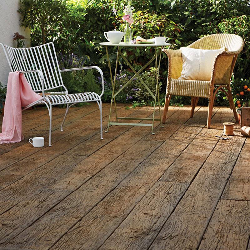 Weathered Oak Vintage Millboard Decking