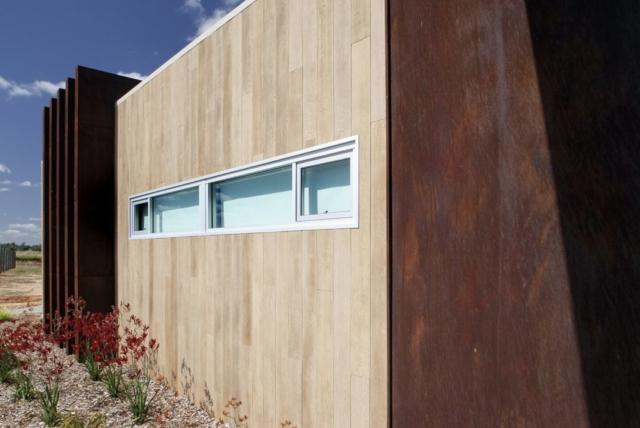 Enhanced Grain Limed Oak Millboard Wall Cladding - Exterior Wall Cladding Ireland