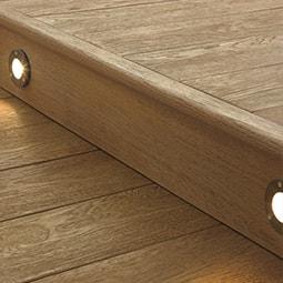 Enhanced Grain Golden Oak Millboard Decking Edging-Fascia