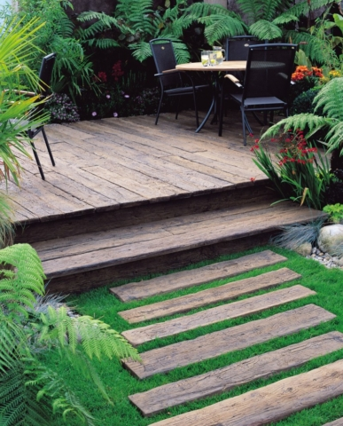 Millboard Weathered Vintage Oak Decking - Alternative to Timber Decking, Composite Decking, Plastic Decking, Supplied and installed by Total Carpentry Ireland