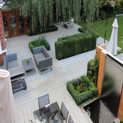 Millboard Enhanced Grain Smoked Oak Decking/ Terrace - total carpentry ireland