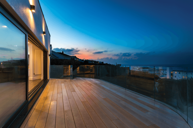 Millboard enhanced grain oak decking - Total Carpentry Ireland -premium decking alternative to wood decking, plastic decking and composite decking