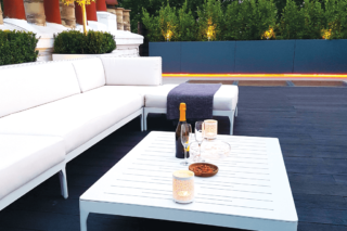 The high Life! - Enhanced Grain Charred Oak Decking by Millboard Terrace -premium decking alternative to wood decking, plastic decking and composite decking - dublin, wicklow and northern ireland decking installer - total carpentry ireland