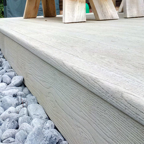 Millboard Fascia and Edging For Enhanced Grain Oak Collection -  Decking Ireland - Total Carpentry Ireland - Alternative to timber decking, hard wood decking and composite decking